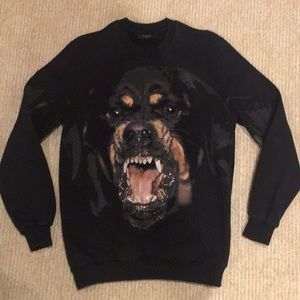 Givenchy Rottweiler Sweater Size S